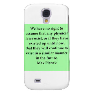 max plank quote galaxy s4 cover