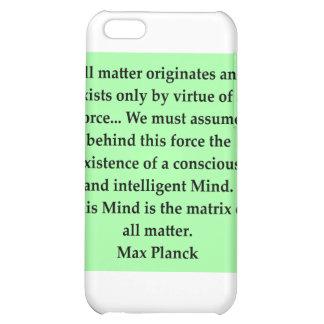 max plank quote iPhone 5C case