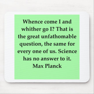 max plank quote mouse pad