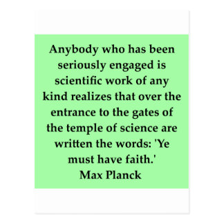 max plank quote post cards