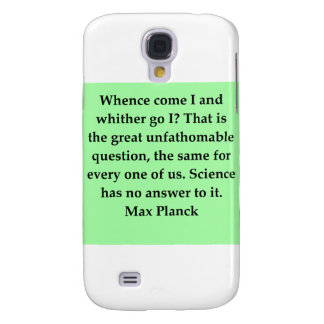 max plank quote samsung galaxy s4 cover