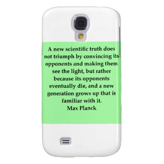 max plank quote samsung galaxy s4 covers
