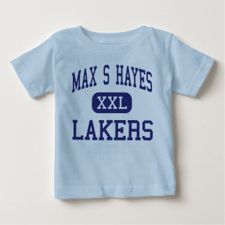 Max S Hayes - Lakers - Vocational - Cleveland Ohio Baby T-Shirt