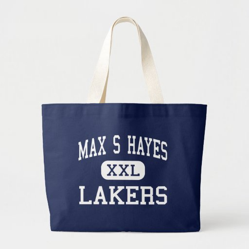 Max S Hayes - Lakers - Vocational - Cleveland Ohio Canvas Bags