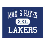 Max S Hayes - Lakers - Vocational - Cleveland Ohio Postcard