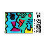 Max Shabestari Postage Stamp