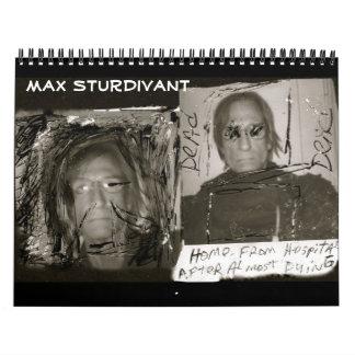 Max Sturdivant Calendar