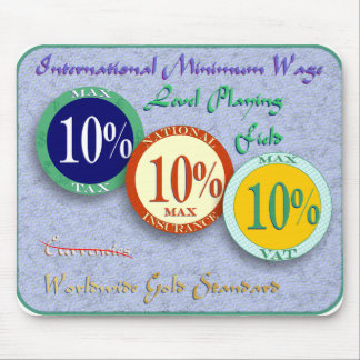 Max Tax, VAT, National Insurance 10% Mouse Pad
