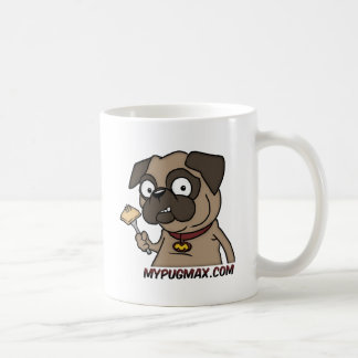 Max The Pug Classic White Coffee Mug