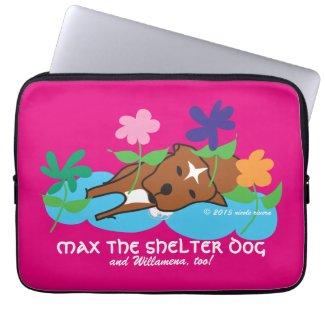 Max & Willamena's Neoprene Laptop Sleeve 13 inch