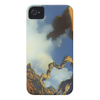 Maxfield Parish Painting Design iPhone 4 Case