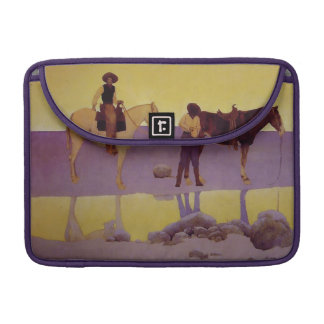 Maxfield Parrish Cowboy Fine Art Macbook Pro Case Sleeves For MacBooks