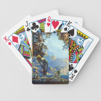 Maxfield Parrish Daybreak Bicycle Poker Cards