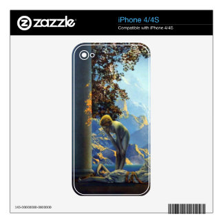 Maxfield Parrish Daybreak Decal For iPhone 4