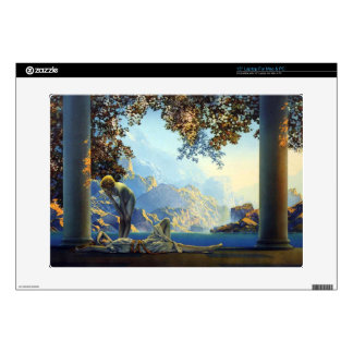 "Maxfield Parrish Daybreak Vintage Painting Decals For 15"" Laptops"