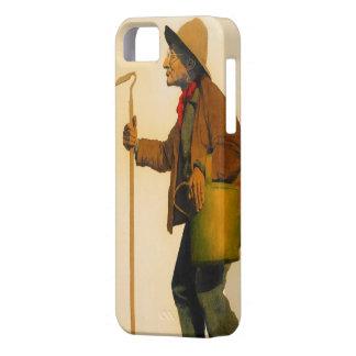 """""""Maxfield Parrish el jardinero """" Funda Para iPhone SE/5/5s"""