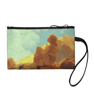 Maxfield Parrish Morning (Spring) Vintage Art Coin Purses
