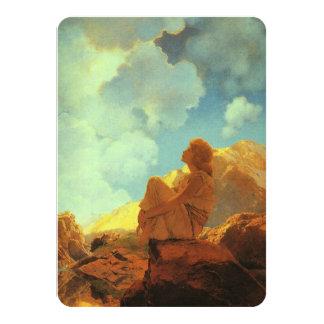 Maxfield Parrish Morning (Spring) Vintage Art Card