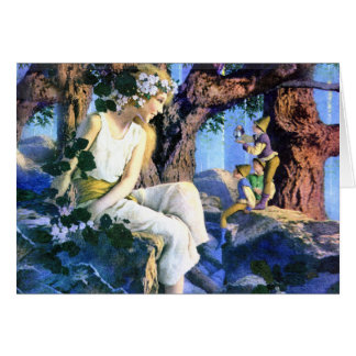 Maxfield Parrish s Fair Princess and the Gnomes Cards