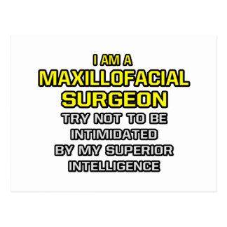Maxillofacial Surgeon...Superior Intelligence Postcard