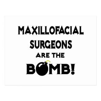 Maxillofacial Surgeons Are The Bomb! Postcard