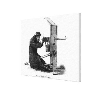 Maxim Automatic Gun Stretched Canvas Print