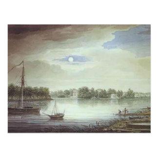 Maxim Vorobiev- Elagin Island at Night Post Card