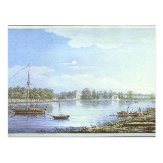 Maxim Vorobiev- The Nevka by the Elagin Island Post Card