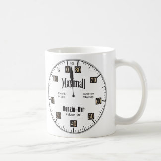 Maximall WW1 Fuel Indicator Coffee Mug