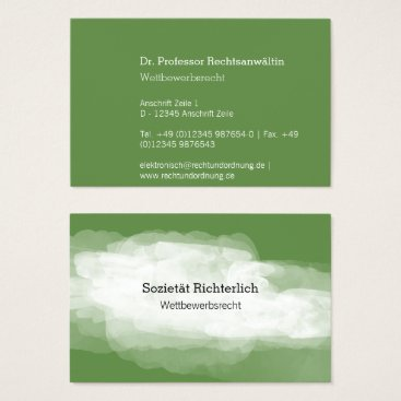 Lawyer Themed Maximally Understatement Business Card
