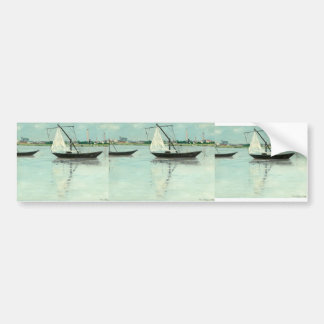 Maxime Maufra- Amont prairie Bumper Stickers