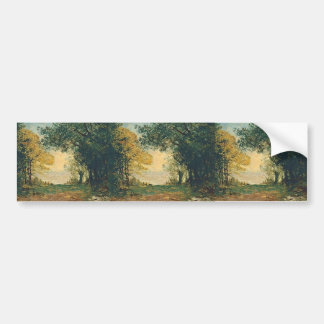 Maxime Maufra- Beg-Meil at dusk Bumper Stickers