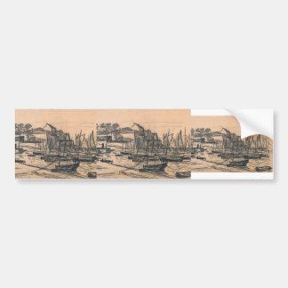 Maxime Maufra- Belle-Ile castle Bumper Stickers