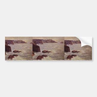 Maxime Maufra- Coast Goulphar Bumper Sticker