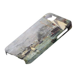 Maxime Maufra- Departure of a Cargo Ship iPhone 5 Covers