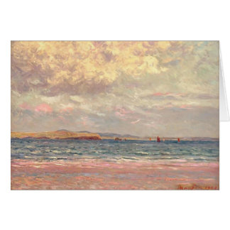 Maxime Maufra- Evening, Morgat Beach Card