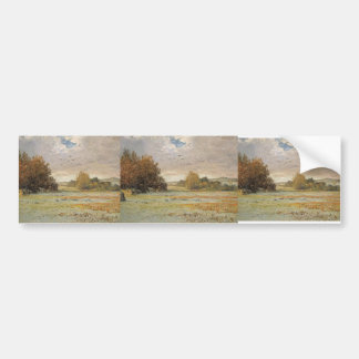 Maxime Maufra- Frost at Morgat Bumper Stickers