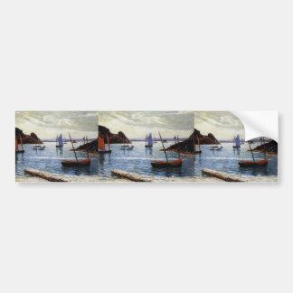 Maxime Maufra- Isle of Brehat Bumper Sticker