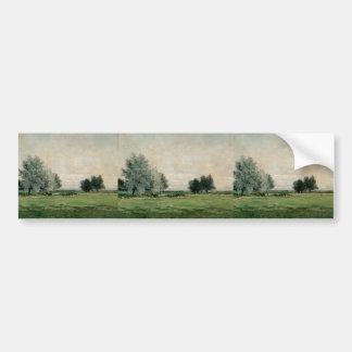 Maxime Maufra- Meadow Bumper Sticker
