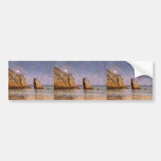 Maxime Maufra- Moonrise Bumper Sticker