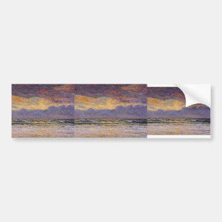 Maxime Maufra- Sunset - Morgat Bumper Sticker