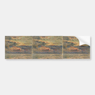 Maxime Maufra- Sunset on the Sea Bumper Sticker