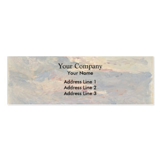 Maxime Maufra- Sunset on the Sea Business Card Template