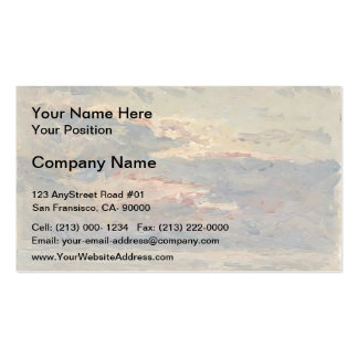 Maxime Maufra- Sunset on the Sea Business Card
