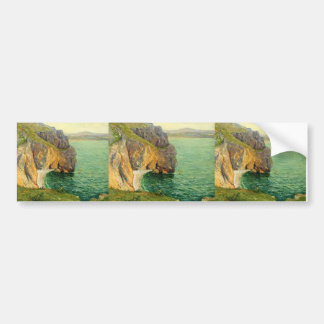 Maxime Maufra- The Cliffs at Polhor Bumper Sticker