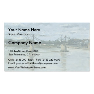 Maxime Maufra- The old bridge in Ancenis Double-Sided Standard Business Cards (Pack Of 100)