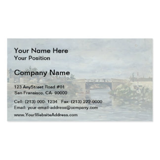 Maxime Maufra- The old Bridge in Barbin Double-Sided Standard Business Cards (Pack Of 100)