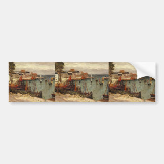 Maxime Maufra- The Port of Sauzon Bumper Sticker