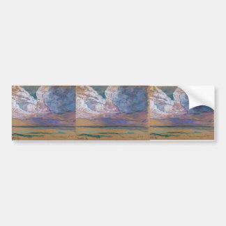 Maxime Maufra- The storm Bumper Sticker
