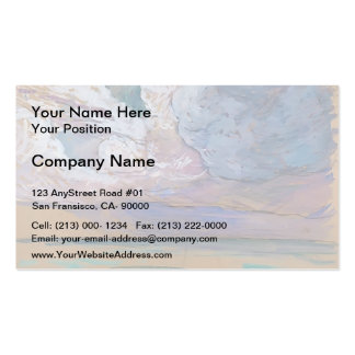 Maxime Maufra- The storm Business Card Template